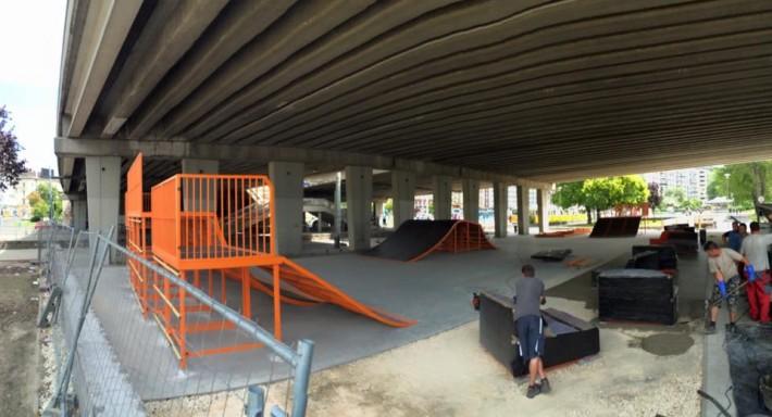 Egy álom vált valóra: skatepark a Boráros Téren!