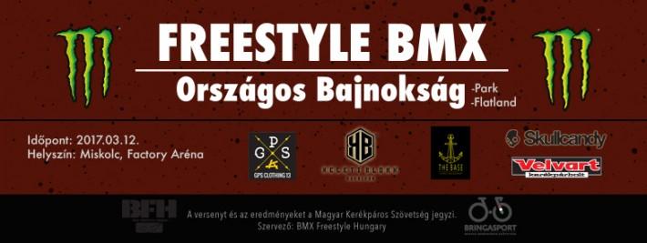 Freestyle BMX Országos Bajnokság 2016-2017