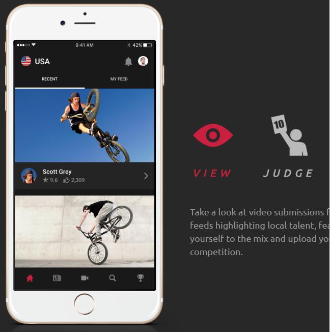 UCI – Freestyle BMX Applikáció